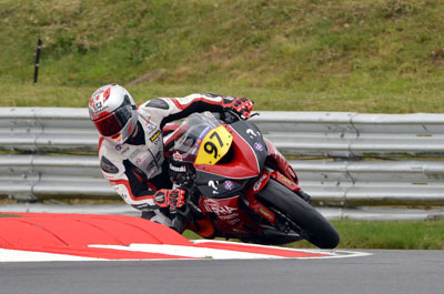 Josh Corner in action at Snetterton. Image by Jon Jessop Photography
