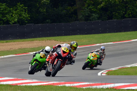 Josh in action at Brands Hatch. Image by Jon Jessop Photography
